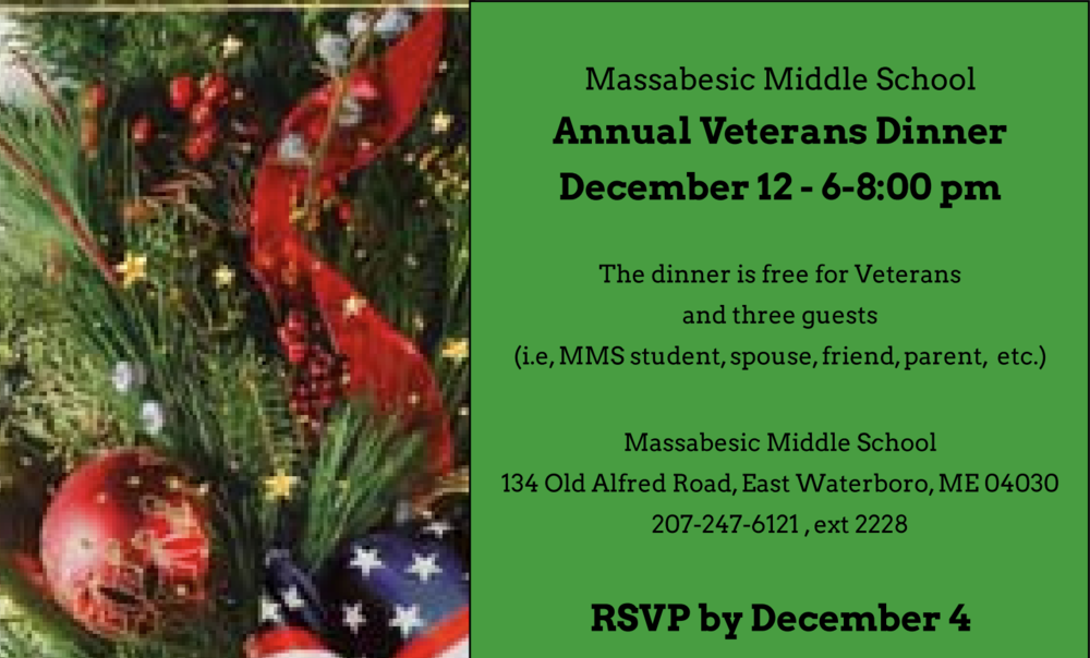 MMS Annual Veterans Dinner