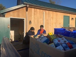 MHS Leadership Academy Food Drive supports Waterboro Food Pantry