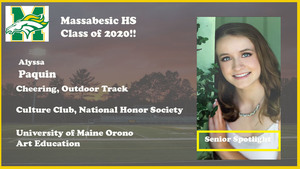 Alyssa Paquin Senior Spotlight