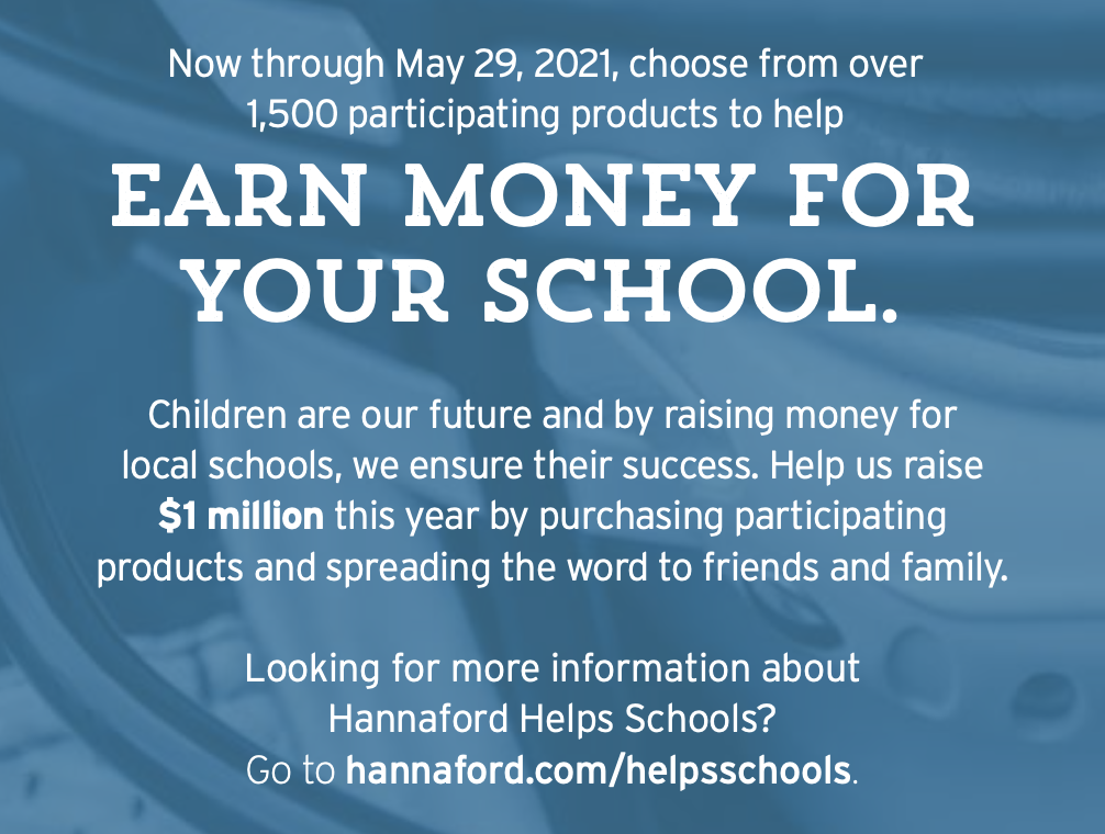 Description of Hannaford Helps: earn dollars and donate to MMS
