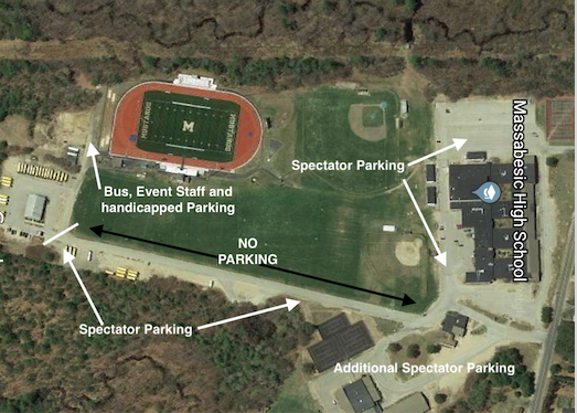 Parking Map MHS