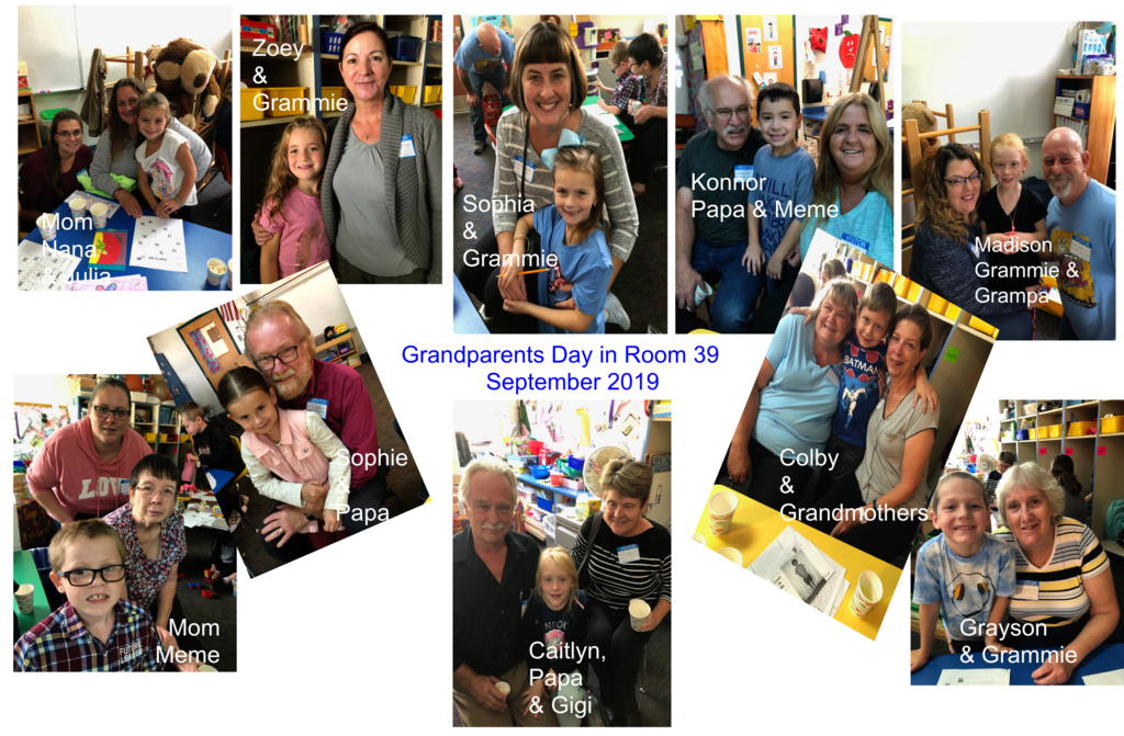 Grandparents' Day Collage