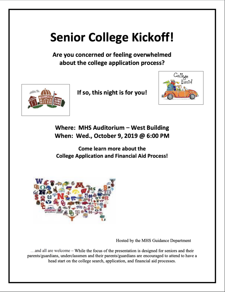 Senior College Kickoff