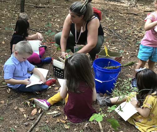 PreK Outdoor Learning