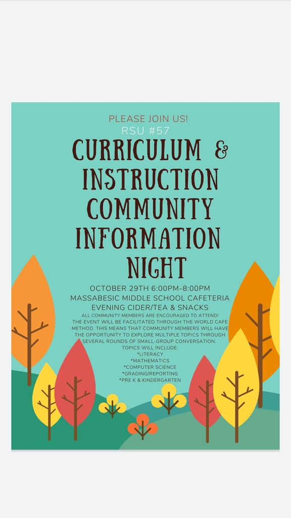 Curriculum and Instruction Community Information Night
