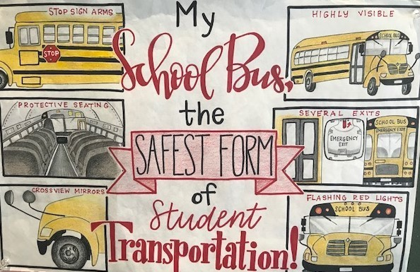 School Bus Safety Week Poster 2019