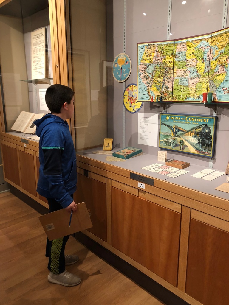 MMS 6th graders visited the Osher Map Museum in Portland this week.