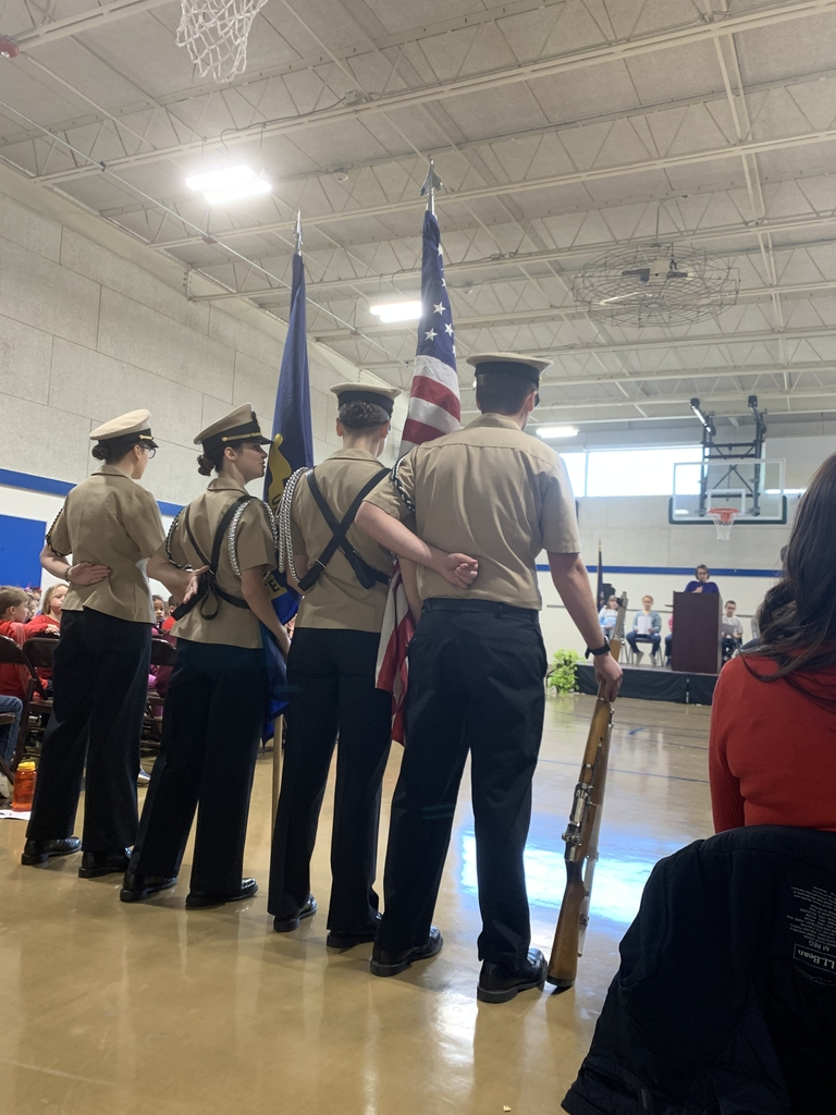 NJROTC students at Shapleigh Memorial