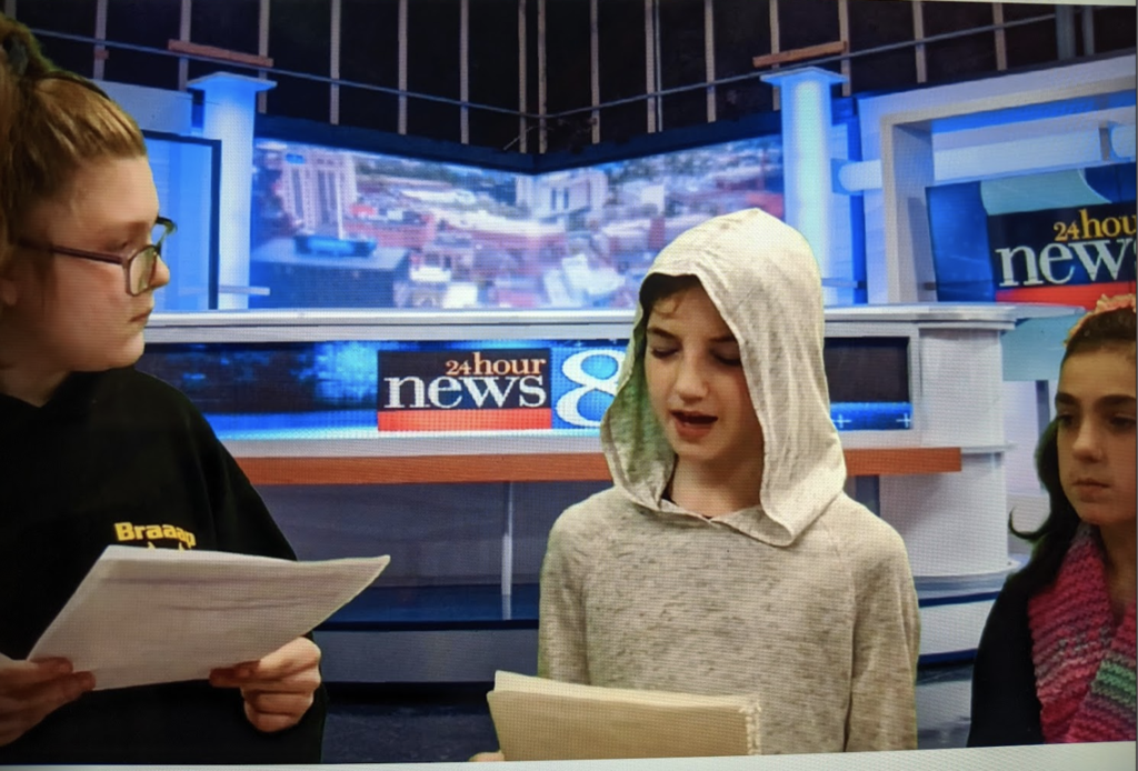 The Louis Braille project set in the newsroom; excellent interview work!