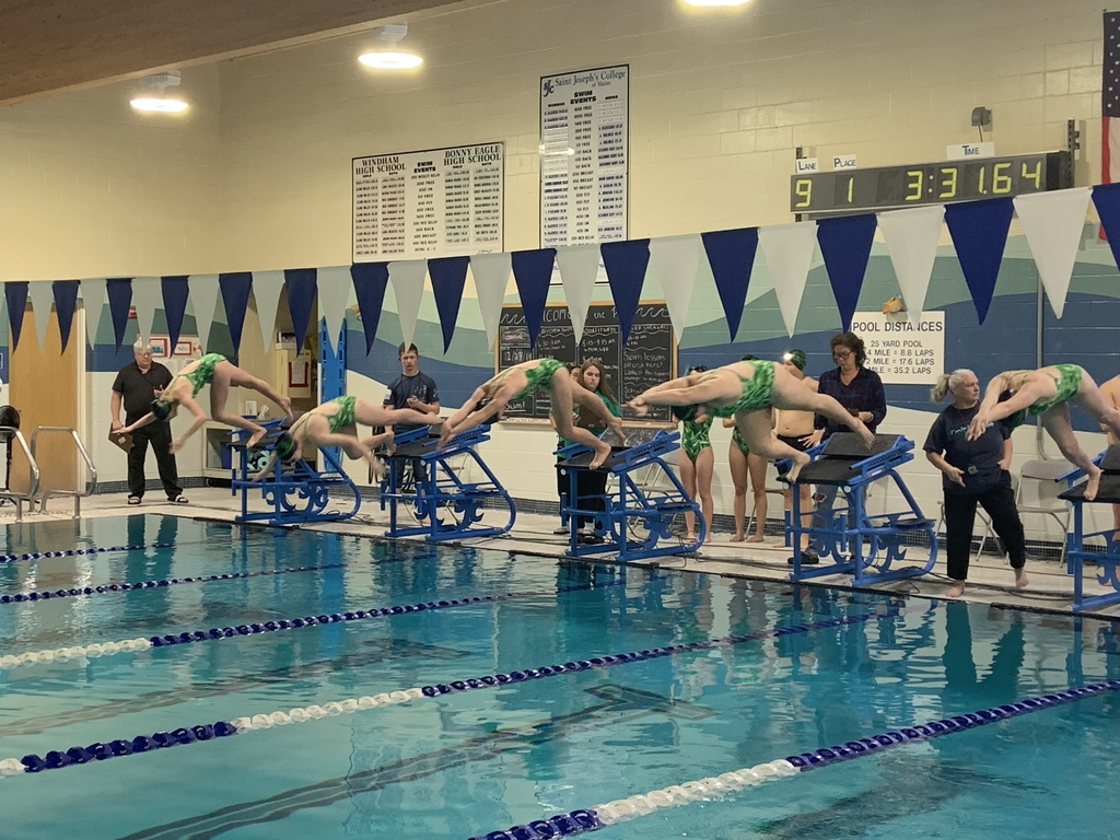 Massabesic swimmers take to the pool!
