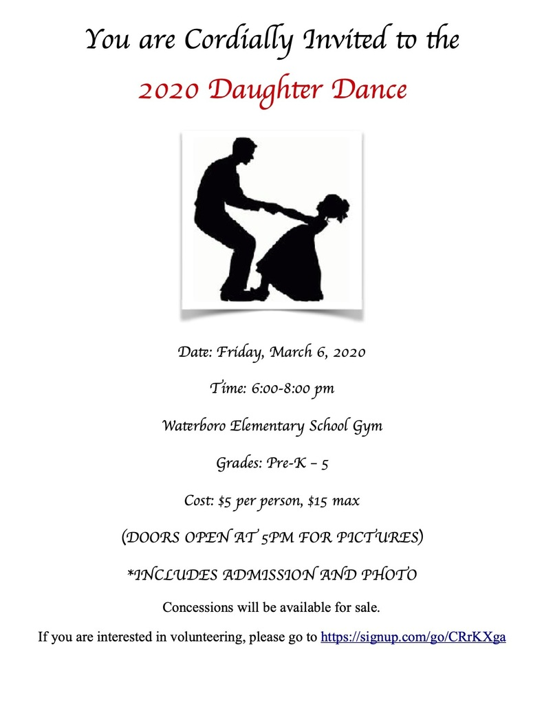 Daughter Dance Flyer