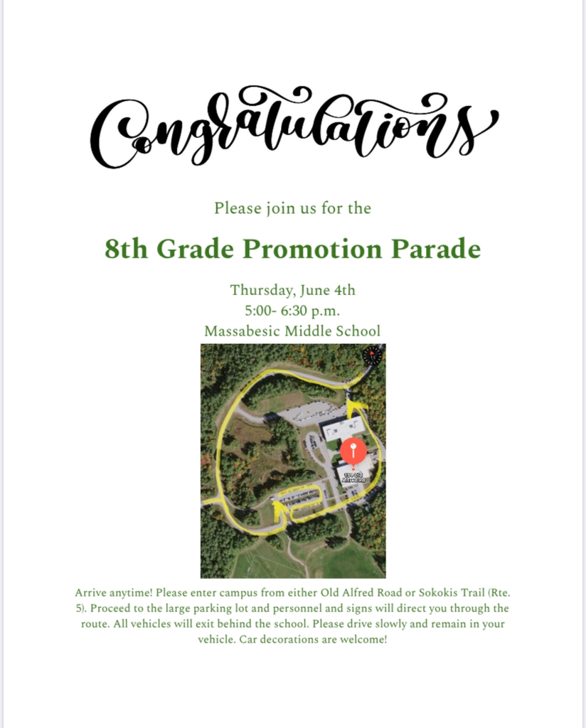 8th grade parade invitation